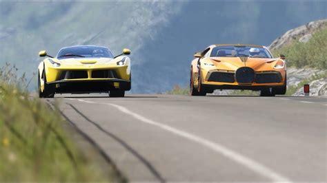Forza horizon 4 drag race: Bugatti Divo vs Ferrari LaFerrari at Highlands | Ferrari laferrari, Bugatti, Amazing cars