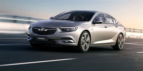 2018 Holden Commodore Revealed Previews 2018 Buick Regal