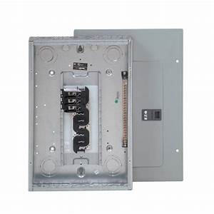 Eaton 125 Amp 12-space 24-circuit Type Br 3 Phase Main Lug Load Center-3br1224l125