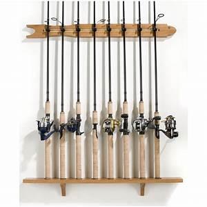 Organized Fishing 8- Rod Modula Wall Rack