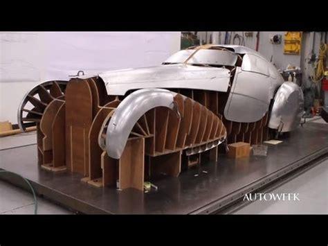 bugatti type  build restoration video part