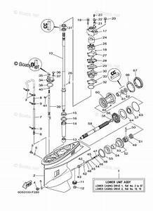 Yamaha Outboard Parts By Hp 90hp Oem Parts Diagram For
