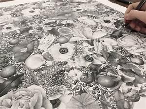8 million inked dots by artist xavier casalta
