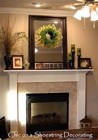 mantel decorating ideas 43 Stylish Easter Mantel Decorating Ideas - DigsDigs