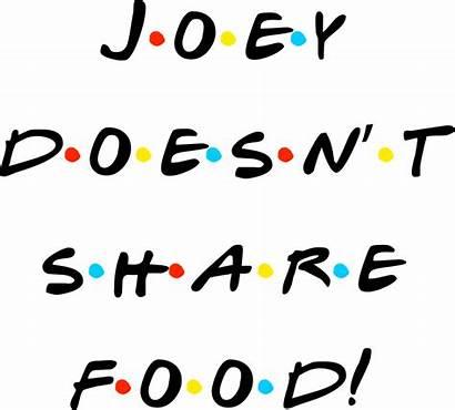 Joey Doesn Throw Sticker Society6 Friends Stickers