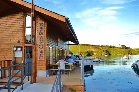 Eds Seafood Shed Restaurant by The Crab Shed Salcombe Gjr Architects