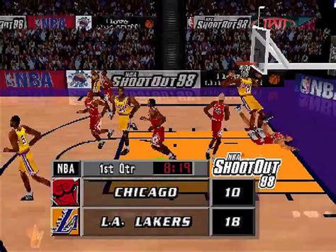 nba shootout gamefabrique games playstation