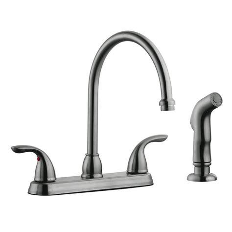 kohler fairfax single handle side sprayer kitchen faucet