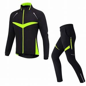 velo vtt vert cyclisme ensemble de vetement pour l39hiver With vêtement de vélo pour femme