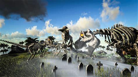 ark survival evolveds halloween themed update fear