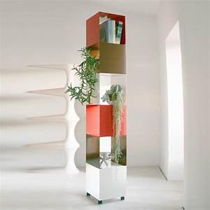 Le meuble colonne en 45 photos qui vont vous inspirer for Meuble plantes d interieur