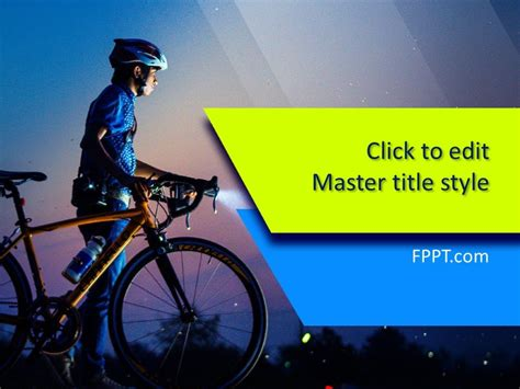 Free Bicycle Powerpoint Template