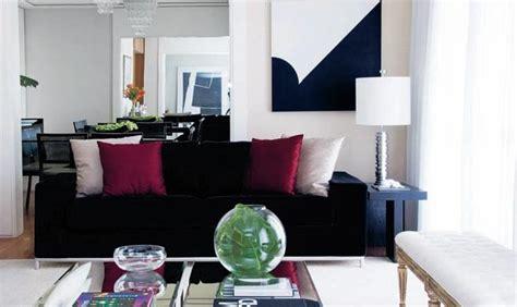 decorar sofa velho decora 231 227 o e projetos salas sof 193 s pretos na decora 199 195 o