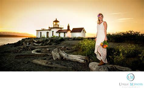sunset bridal portraits seattle washington rathdrum