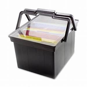 advantus companion letter legal portable plastic file box With letter legal plastic file box
