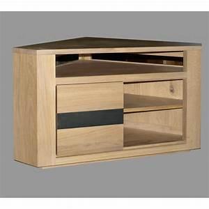 Meuble D Angle Chambre : meuble d 39 angle t l oslo n 2 meubles de normandie ~ Teatrodelosmanantiales.com Idées de Décoration