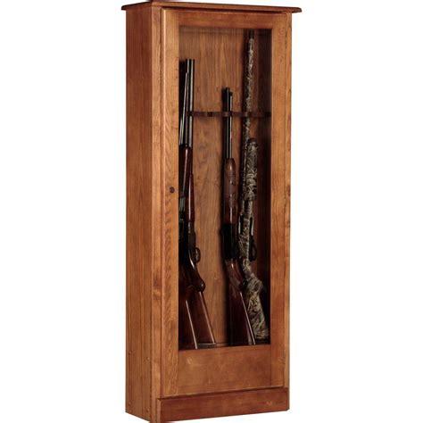 Wooden Gun Cabinets by American Furniture Classics 4 78 Cu Ft 10 Gun Cabinet