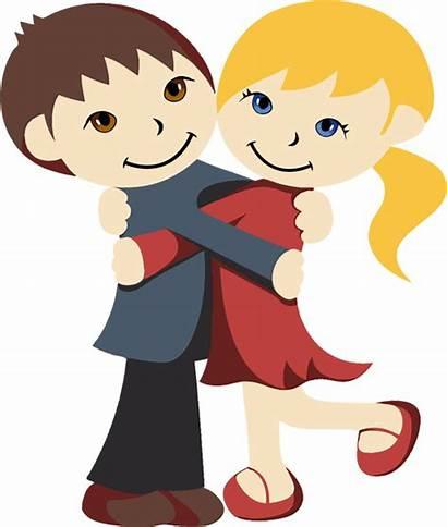 Hugging Friends Clipart Hug Cartoon Clipartmag