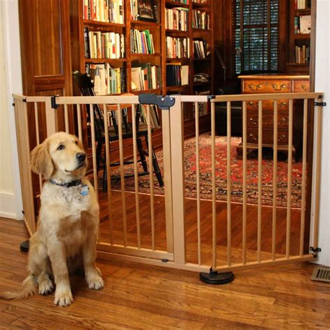 door gates for dogs guide to the best gates for 2018 woof whiskers