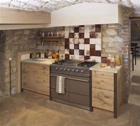 mini cuisine en bois cuisine cagnarde moderne en bois cuisine idées de