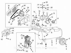Campbell Hausfeld 3jr85d Parts Diagram For Air