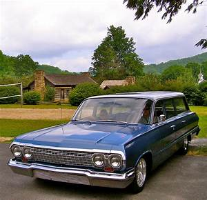 1963 Chevy Bel Air Station Wagon