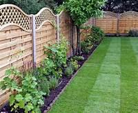 backyard fence ideas Wooden Garden Fencing Ideas   Panels   Panel Tops   Posts