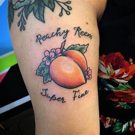 peach tattoo designs ideas design trends premium
