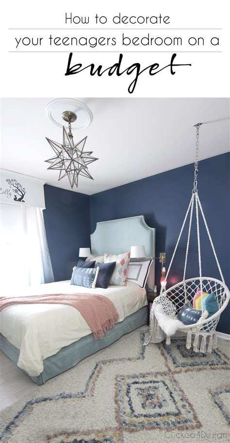 Decorating Ideas For The Bedroom On A Budget by How To Decorate Your Teenagers Bedroom On A Budget