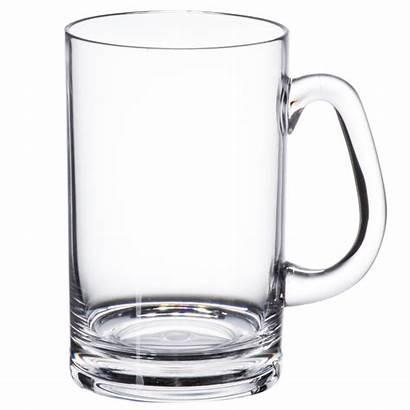 Beer Mug Plastic Handle Clear Oz Case
