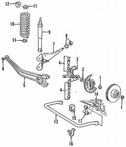 Genuine Oem Suspension Components Parts For 1995 Mazda