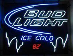 Bud Light Houston Texans Neon Sign