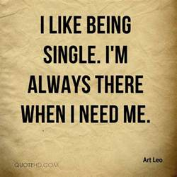quotes about being single inspire leads