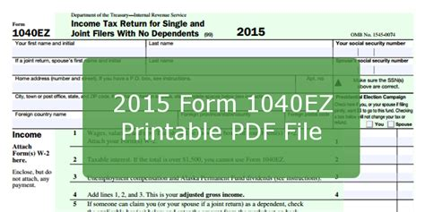 form ez printable  file  instructions