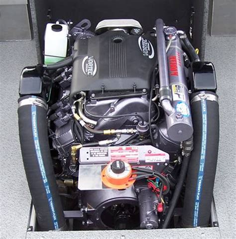Jet Boat Exhaust Manifolds by Kodiak Big Block Chevy Black Jet Boat Manifolds Risers
