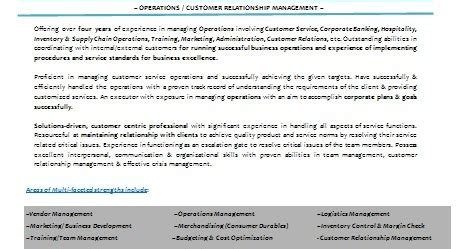 Relationship Manager Resume India by 10000 Cv And Resume Sles With Free Relationship Manager Resume India