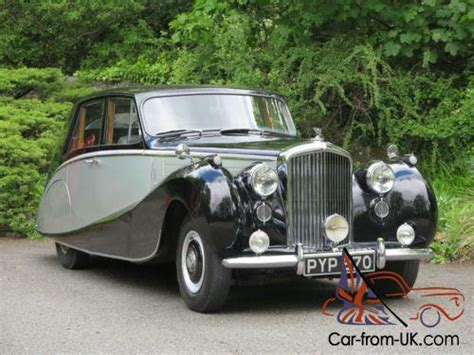 1954 Bentley R Type Automatic Hooper Empress Saloon B42yd