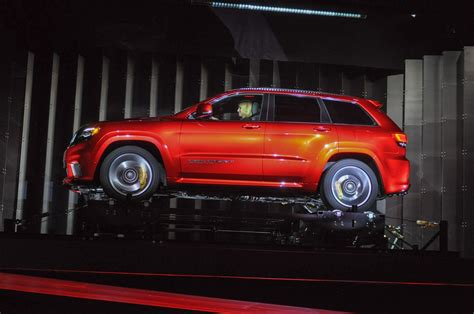 2018 Jeep Grand Cherokee Trackhawk Video Preview