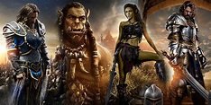 WARCRAFT character posters put most of the main cast on ...