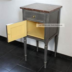 Kommode Grau Vintage : nachttisch grau nachtschrank kommode landhaus shabby chic ~ Michelbontemps.com Haus und Dekorationen