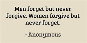 Men forget but ... Forget Girlfriend Quotes
