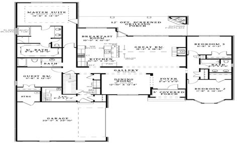 small open floor plans open floor plan house designs popular  story house plans