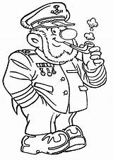 Sailor Coloring Pages sketch template