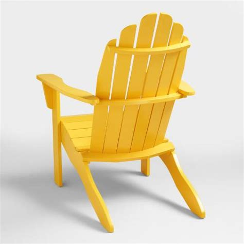 lemon adirondack chair world market