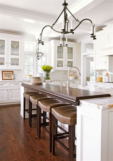 kitchen island plan our best before and after kitchens traditional home 1980