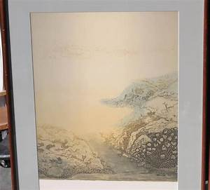 Contemporary Chinese Triptych Landscape Print For Sale at ...