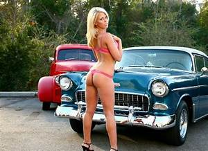 Sexy Classic Car Model | Drove My Chevy To The Levy ...