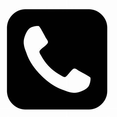 Telephone Phone Svg Logos Font Wikimedia Awesome
