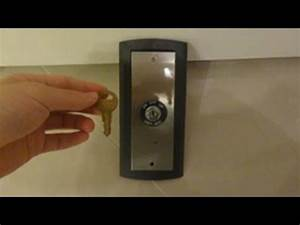 I Got A Thyssenkrupp Signa4 Elevator Key Switch With A