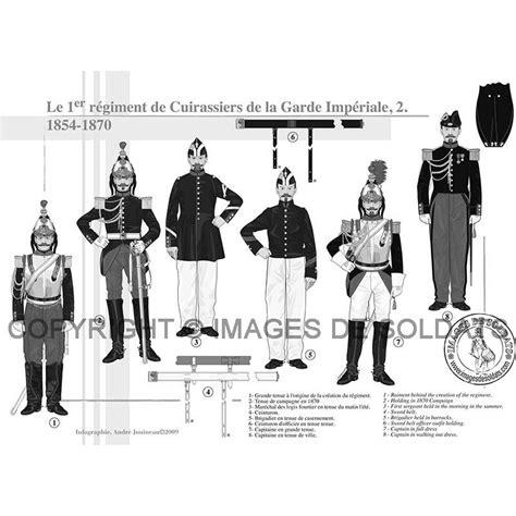 le 1er régiment de cuirassiers de la garde impériale 1854